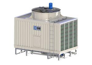 BHC方型横流超低噪密闭式冷却塔