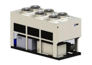 AESX-R  降膜式蒸发冷却螺杆冷水机组