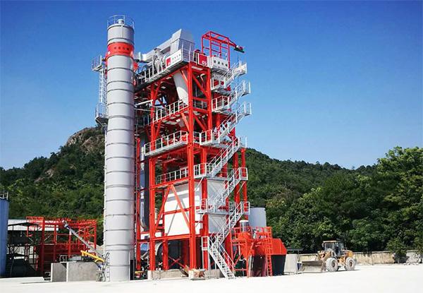德基机械DGRE3000D环保整体式再生设备助力临海道路养护