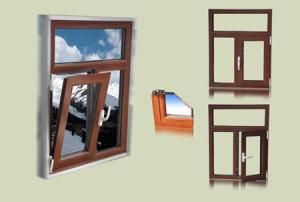 FLGR55系列隔热铝合金内平开下悬窗
