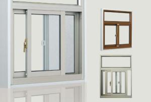 FL80 series aluminum alloy hollow glass sliding window