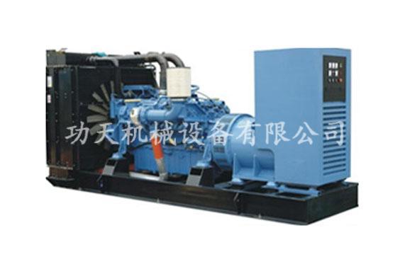 柴油发电机组 奔驰发电机组 柴油发电机组 产品中心 功天机械高清图片