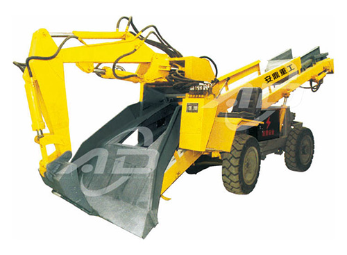 ADAW60轮式斜井专用型小型渣扒机厂家